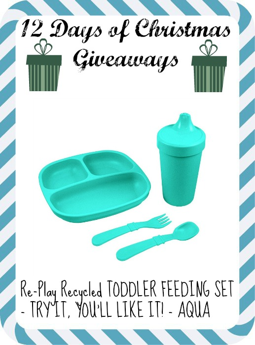 Re-play Recycled TODDLER FEEDING SET - TRY IT, YOU'LL LIKE IT!