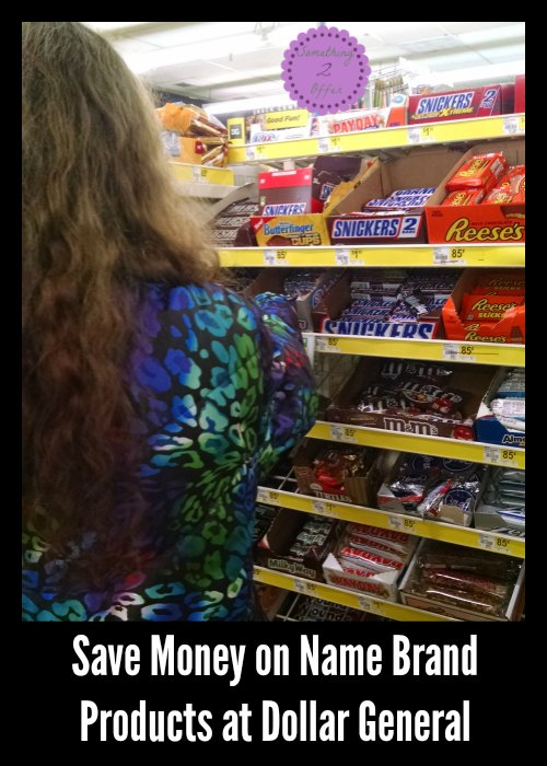 Save Money on Name Brand Products at Dollar General