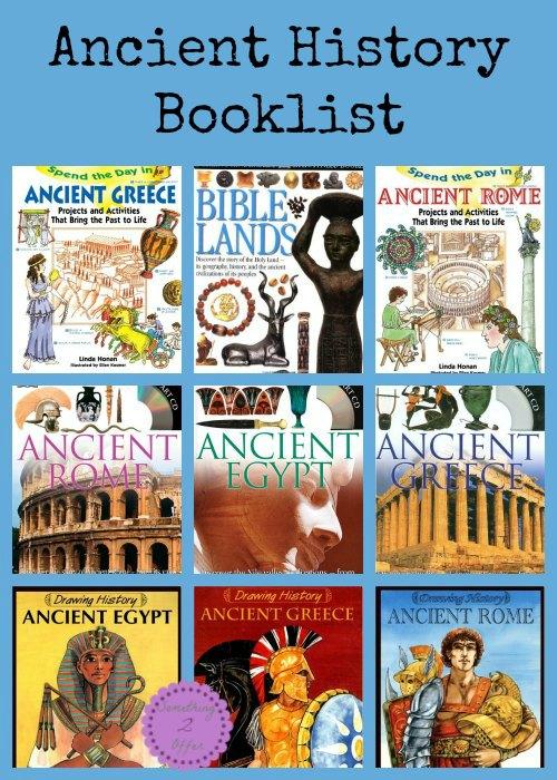 Ancient History Booklist