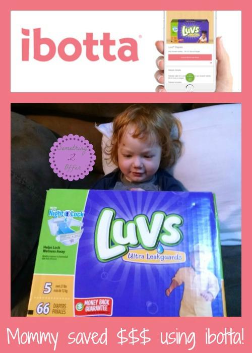 mommy saved $$$ ibotta
