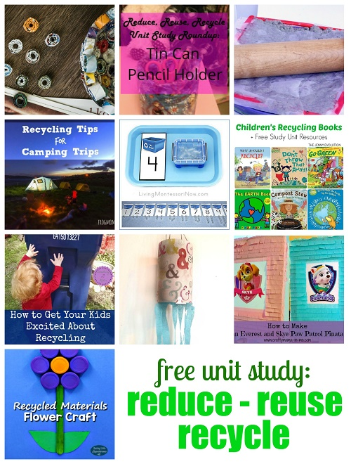 Free-Unit-Study-Reduce-Reuse-Recycle