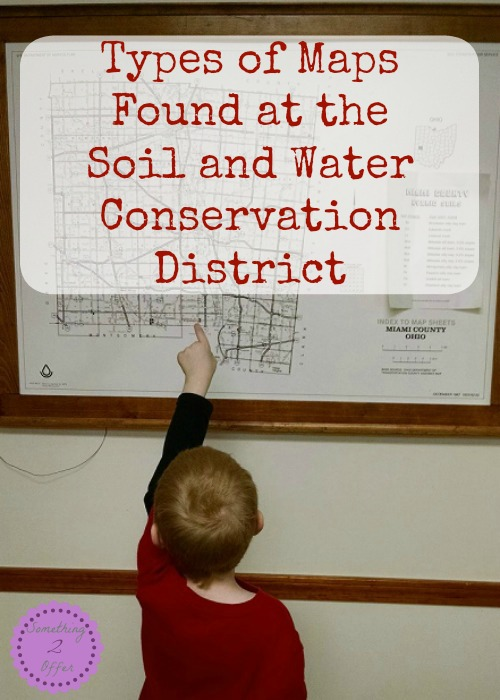 Types of Maps Found at the Soil and Water Conservation District