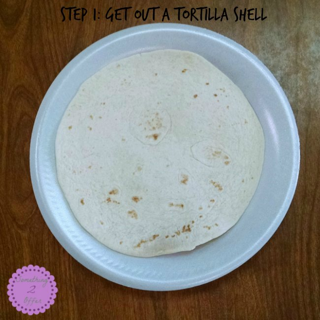 quesadilla step 1