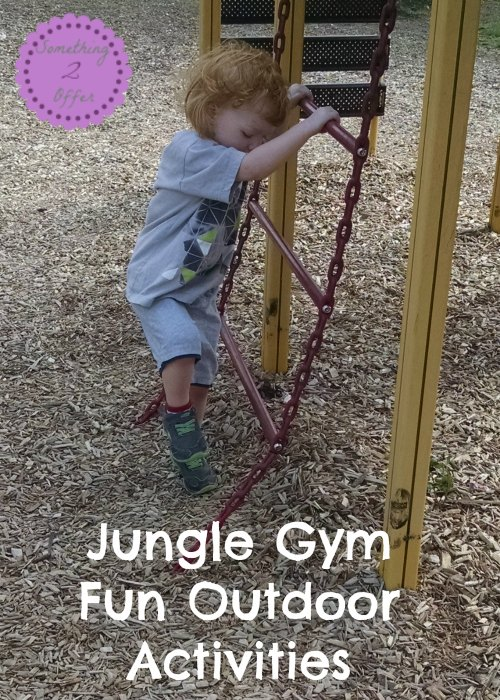 Jungle Gym Fun Outdoor Activities