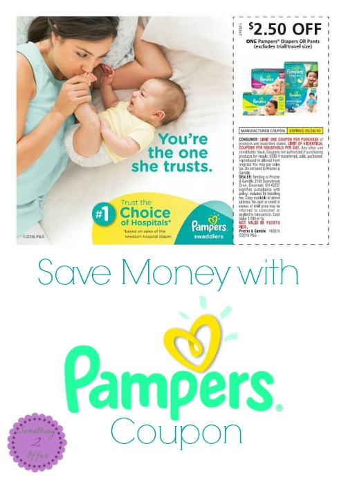 Save Money with Pampers Coupon