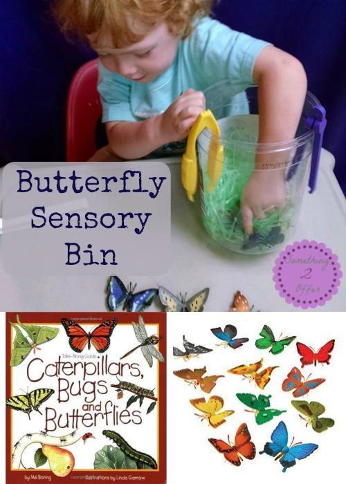 Butterfly Sensory Bin
