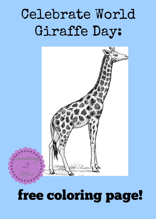 celebrate world giraffe day