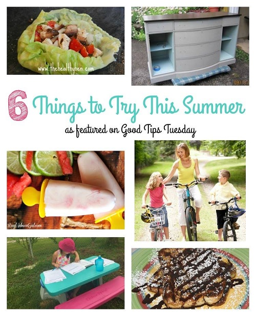 things to try this Summer