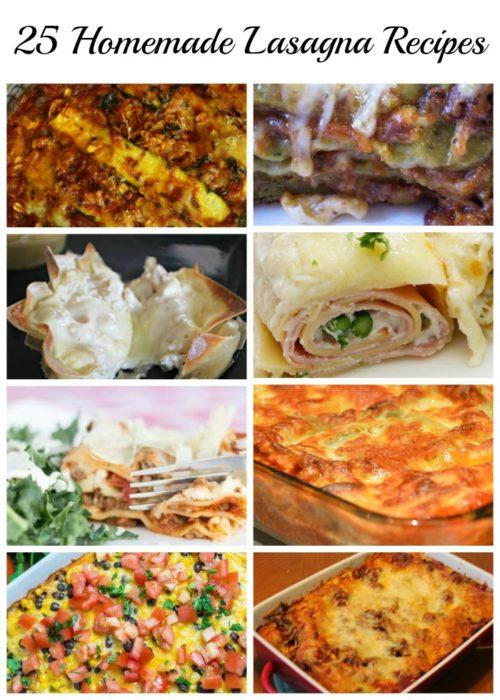 25 Homemade Lasagna Recipes