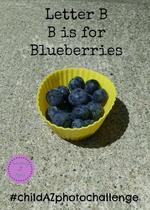 Letter B B is for Blueberries