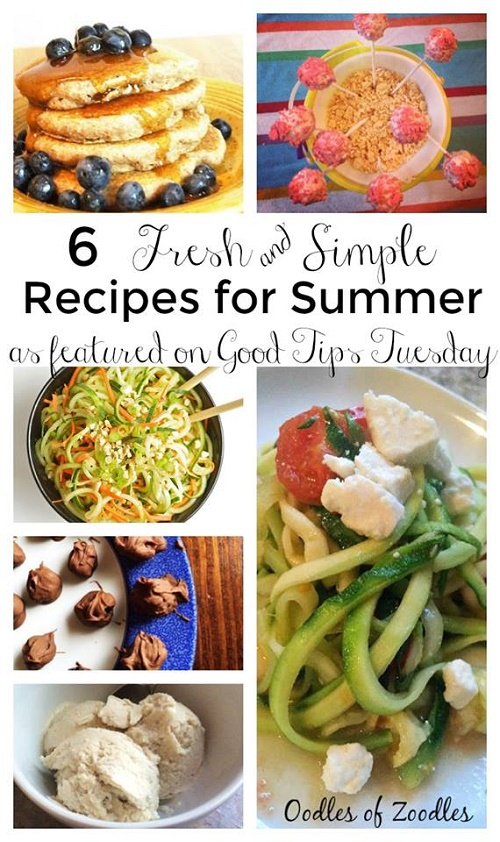 6 Fresh and Simple Recipes for Summer