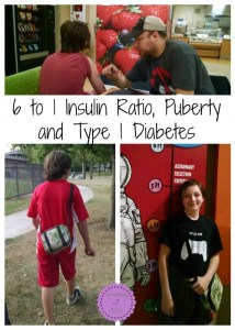 6 to 1 Insulin Ratio, Puberty and Type 1 Diabetes