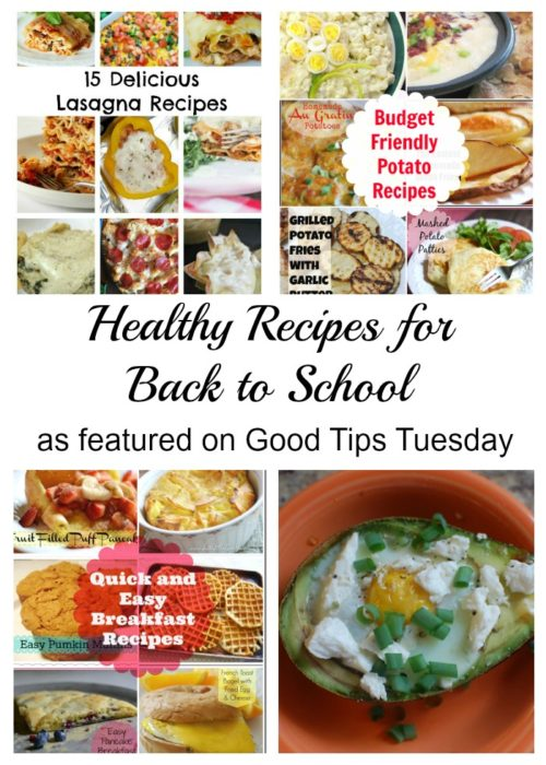 Healthy Recipes for Back to School