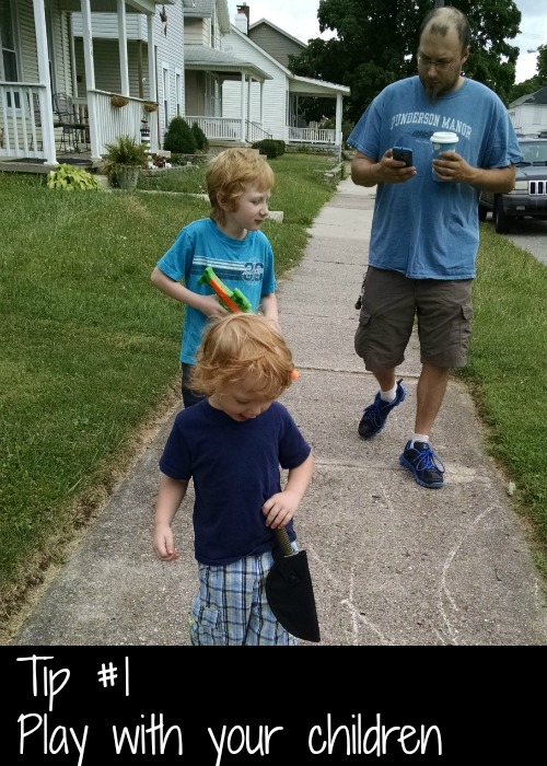 Pokemon Go Play with Your Children