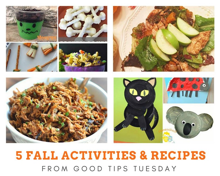 5 Fall Activities and Recipes