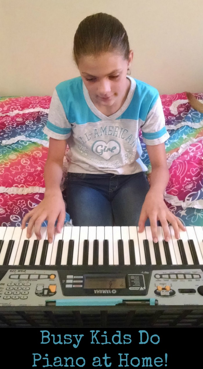 Busy Kids Do Piano at Home!