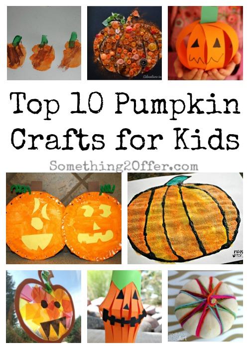 Top 10 Pumpkin Crafts