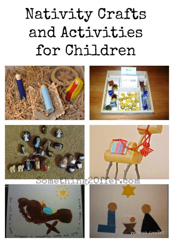 Nativity Crafts and Activities for Children