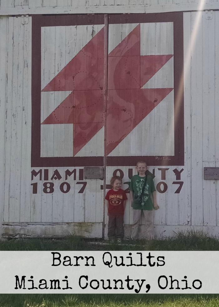 Barn Quilts Miami County, Ohio