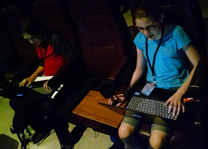 Super League Gaming in theater