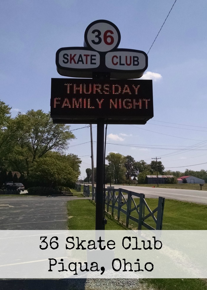 36 Skate Club Piqua, Ohio
