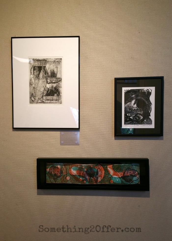 Troy-Hayner Cultural Center framed Art display