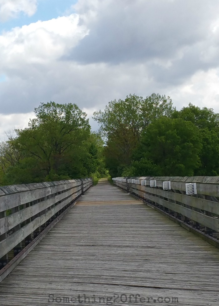 Wooden Bridge over Great Miami River