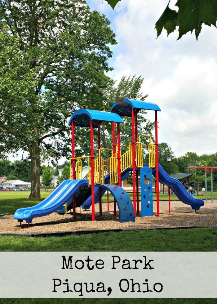 Mote Park Piqua, Ohio