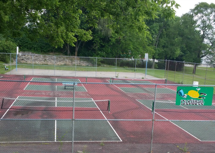 Pickleball Court Mote Park
