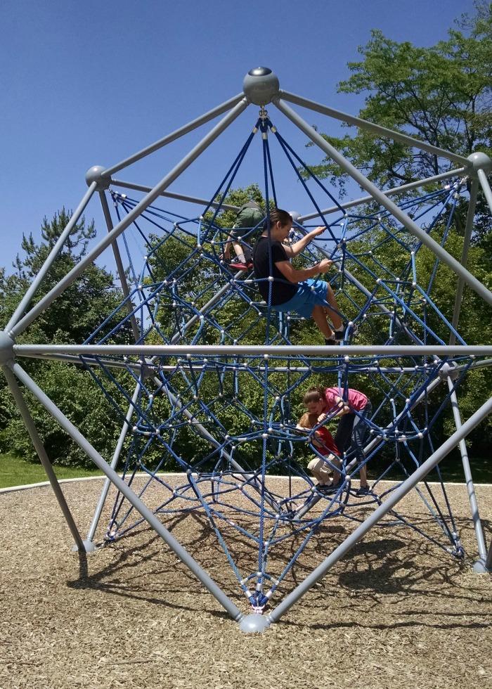 Shoup Park Rope Climber