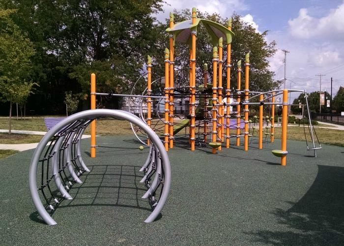 Children's Garden Play structure