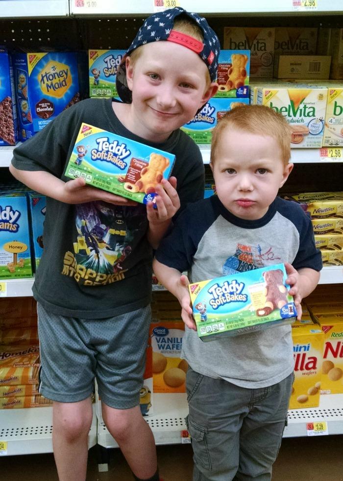 boys with TEDDY SOFT Bakes