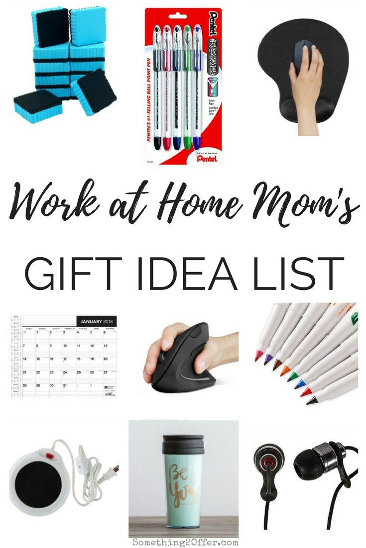 Work at Home Mom's Gift Idea List