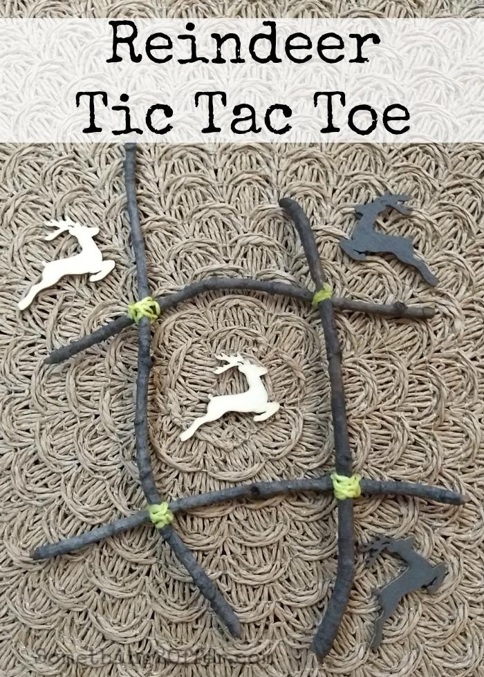 Reindeer Tic Tac Toe