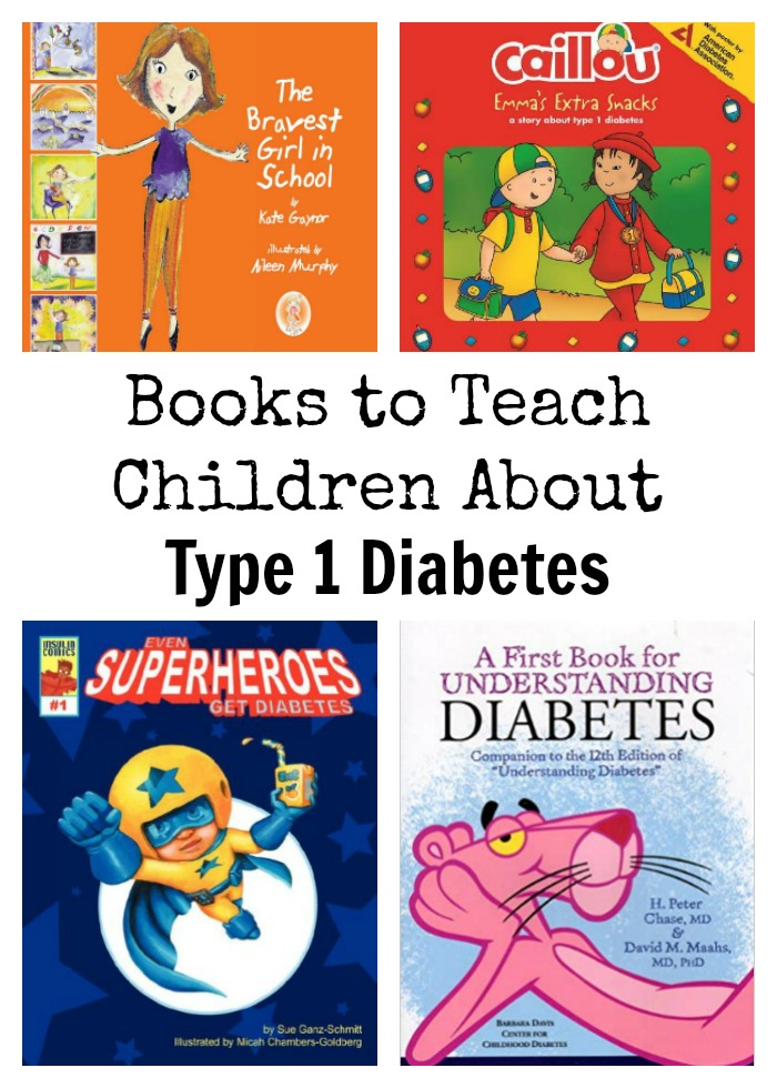 Type 1 Diabetes Childrens Books
