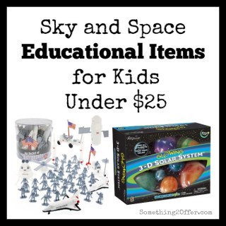 Sky and space educational items