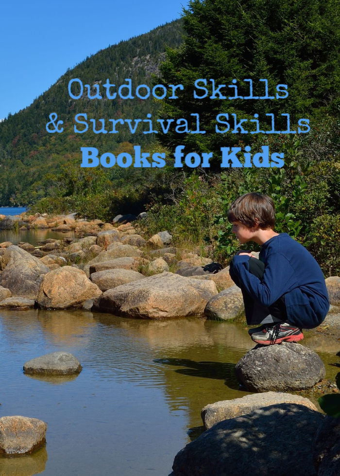 Outdoor skills books for kids