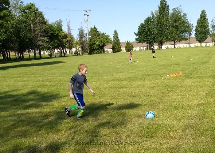 Soccer Camp Dribbling