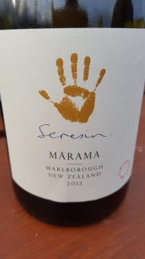 2013 Marama; 100% Sauvignon Blanc barrel aged for 18 months; rich, textured and toasty with honey, cooked apple and mineral. Divine.