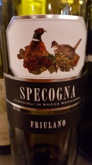 Specogna Friulano (grape) Friuli Venezia Giulia; Peach, lemon, sage, pepper, refreshing; £13.20 Eclectic Tastes