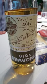 2006 Tondonia Vina Gravonia Rioja Blanco; Gorgeously nutty, toasted and smooth with citrus peel and pith. Regretfully not great with chocolate.