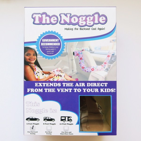 The Noggle, Back Seat Air Conditioning, Car Seat Cool