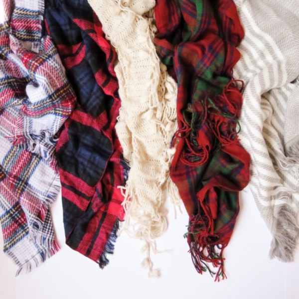 Something About Navy How to Wear Your Blanket Scarves