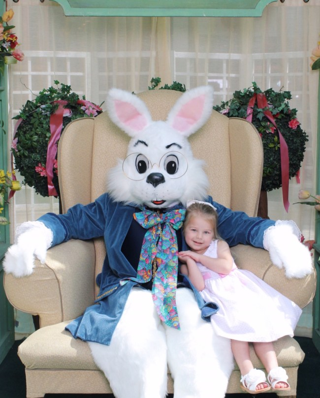 Easter Bunny at West Town Mall