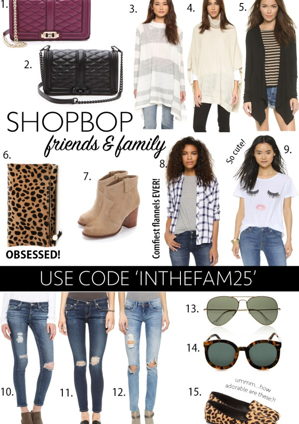 25% Entire Purchase at Shopbop