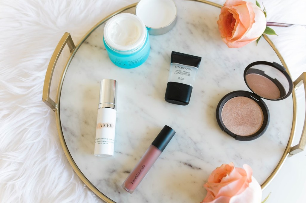 Beauty Review Sephora Haul La Mer Illuminating Eye Gel Bare Minerals Gen Nude Liquid Lipstick Tula Overnight Skin Rescue Treatment Smashbox Foundation Primer Something Beautiful The Blog Daryl-Ann Denner