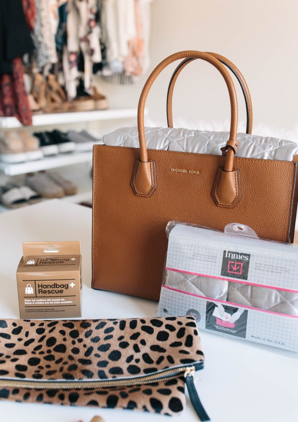 How I Care for my Handbags + Suede Shoes