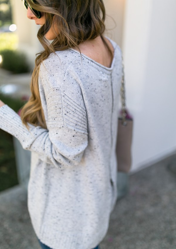 Zip-Back Sweater