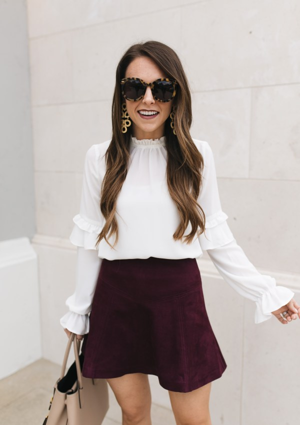 10 Best Suede Skirts for Fall