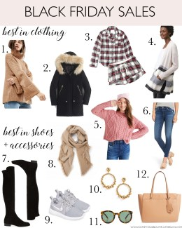 Style blogger Daryl-Ann Dnener shares all the black friday sales 2017 with all sale promo codes and her picks from every retailer currently on sale